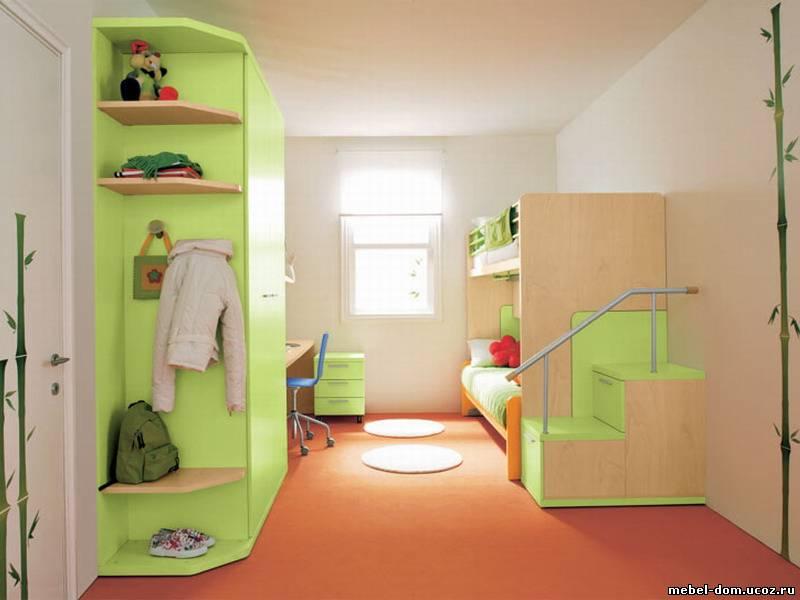 Интерьеры детских комнат для двоих детей фото